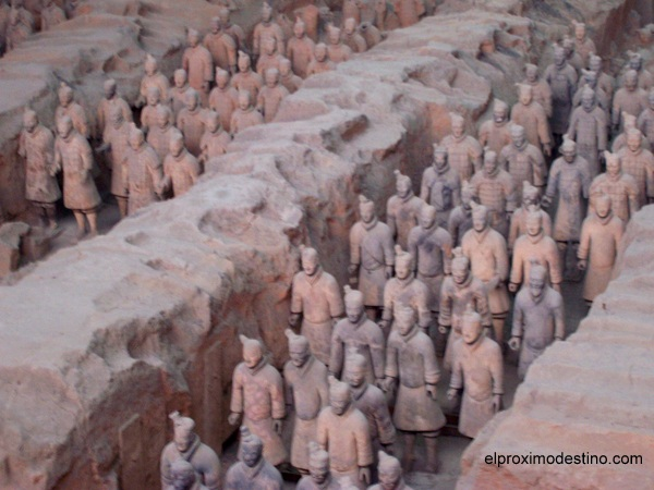 Los Guerreros de Terracota, Xi`an .