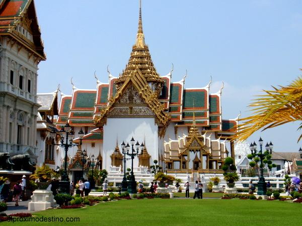 Palacio Imperial, Bangkok.