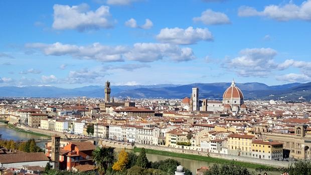 Piazza Michelangelo, Florencia
