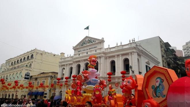 Plaza del Senado, Macao
