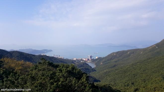 La otra cara de la Isla de Hong Kong.