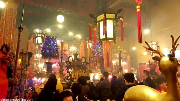 Lugares de Interés de Hong Kong, El Templo del Incienso.