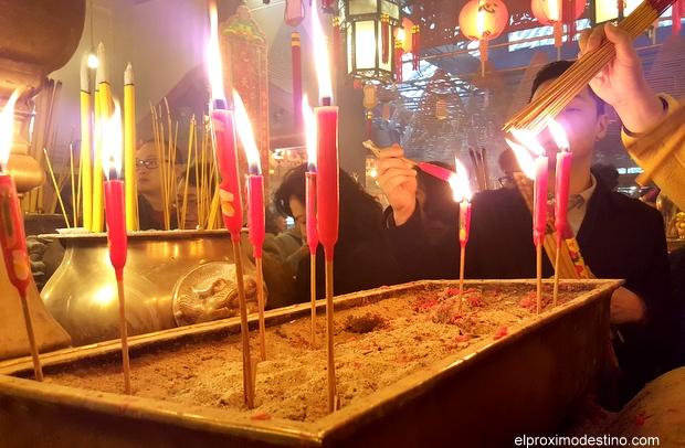 Lugares de Interés en Hong Kong: El Templo del Incienso.