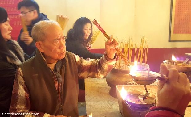 Templo del Incienso. Templo Man Mo.