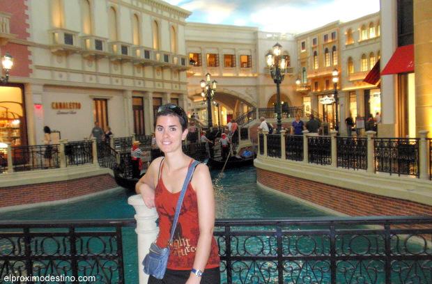 Hotel Venetian , Las Vegas. Hotel en el Strip.