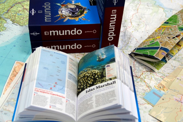 Sorteo guía del mundo, Lonely Planet