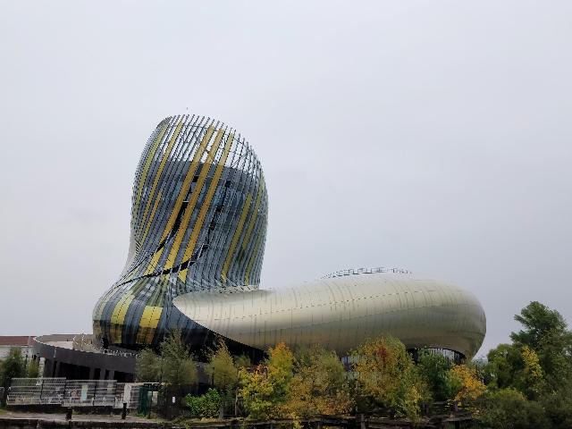La ciudad del vino en Burdeos
