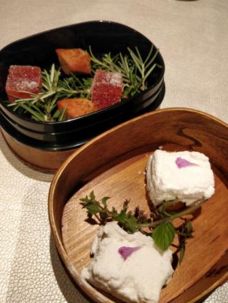 Restaurante del chef Herve Busset, estrella Michellin