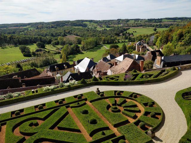 Castillo de Hautefort, mejores castillos de Francia.