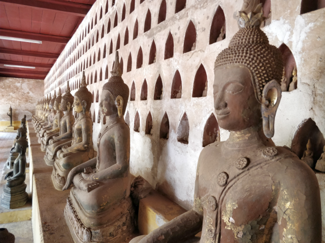 Templos en Laos