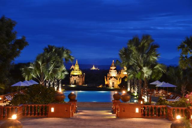 Mejor hotel de Myanmar, lujo en Bagan