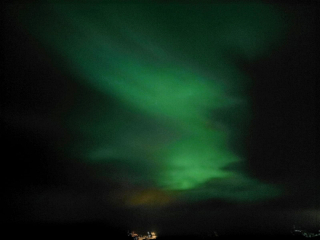 como ver la aurora boreal en Islandia