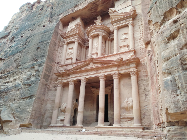 que ver en Jordania: el tesoro de Petra