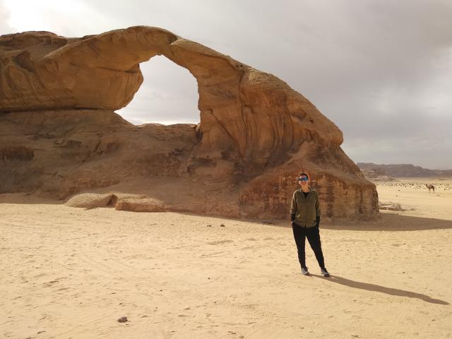 excursion en el desierto del wadi rum