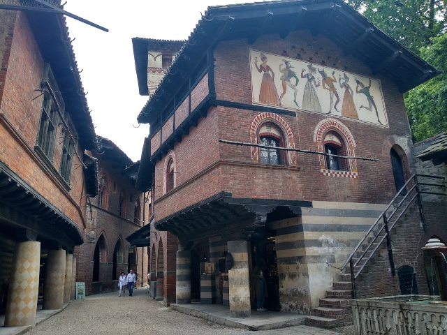 El Borgo Medieval, Turín