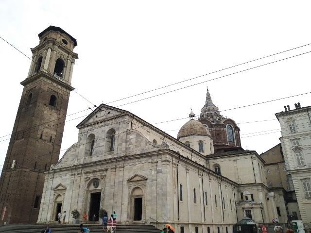 ver la sábana santa de Turín en la catedral de TGurín