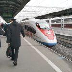 Viajar entre San Petersburgo y Moscú