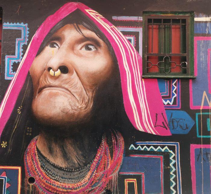 Graffitis en Bogotá