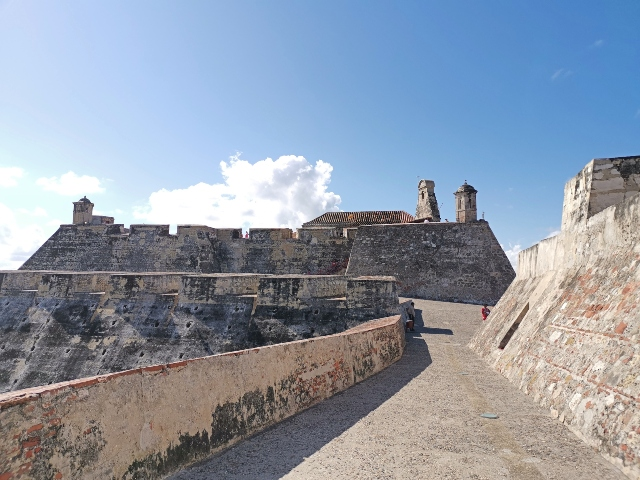 Fuerte de San Felipe en Cartagena de Índias