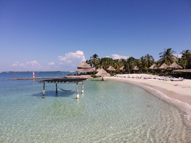 Hotel punta faro en Isla Múcura
