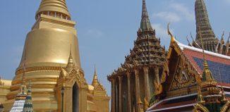 visita al palacio imperial de Bangkok