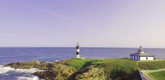 Faro isla pancha, faros más bonitos de Galicia