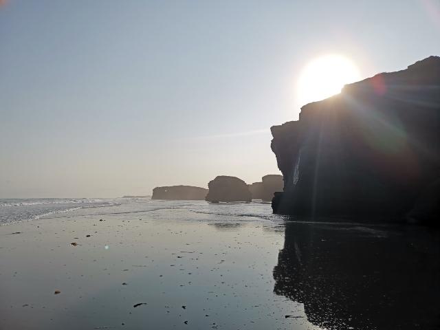 visita a la playa de las catedrales