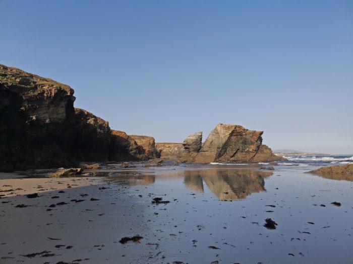 la playa de las catedrales