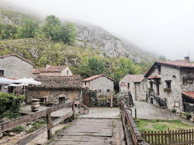subir al pueblo de Bulnes