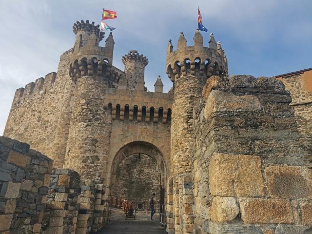visita al castillo templario de Ponferrada