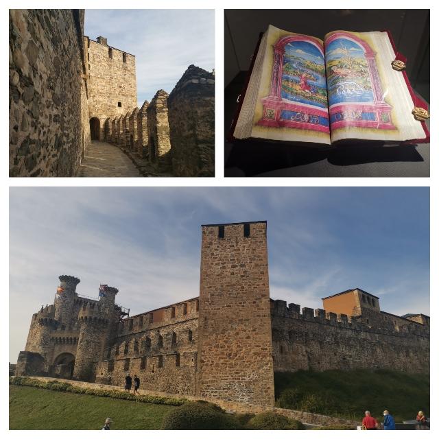 visitar el castillo templario de Ponferrada